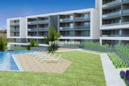Modern 2-bed apartments with communal pool near...